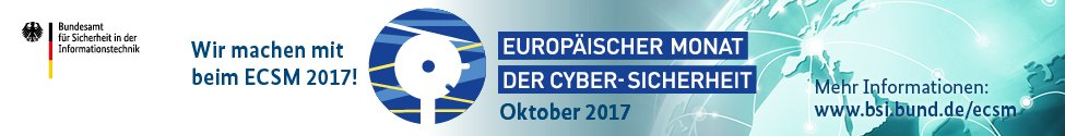 BSI ECSM - European Cyber Security Month